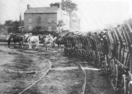The Little Eaton wagonway continued to operate until July 1908.
