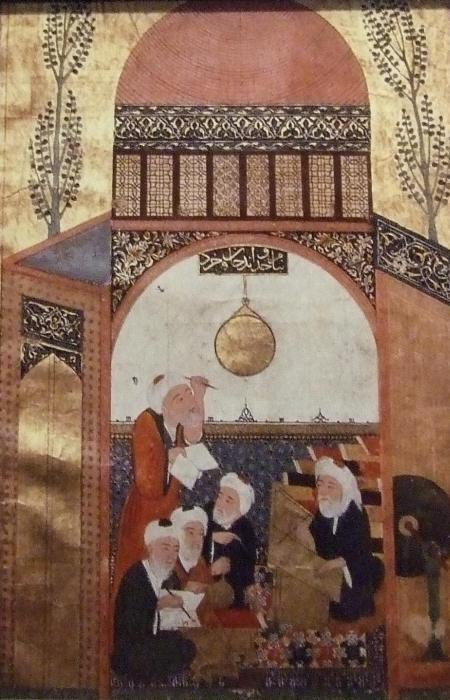 Nair al din al-Tusi, 16th century illustration