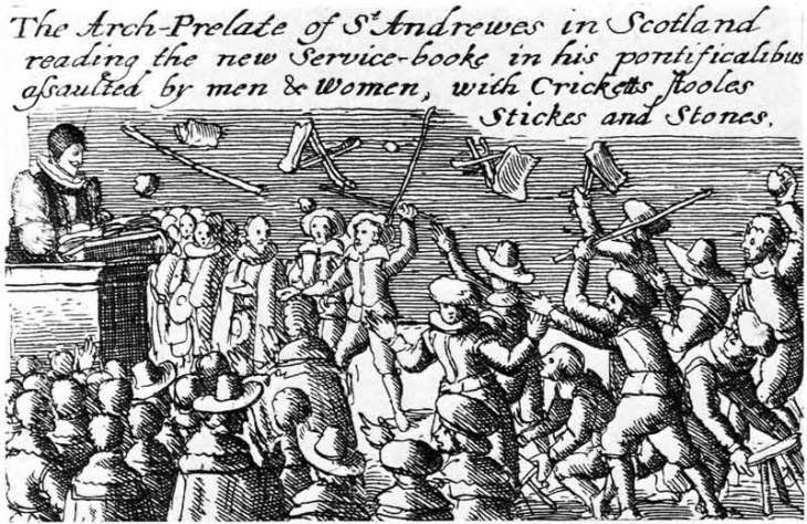 Prayer book riot in Scotland, 1637