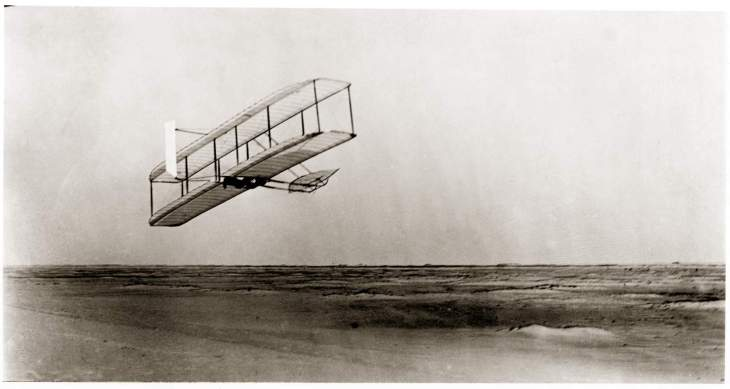 The Wright Brothers' 1902 glider