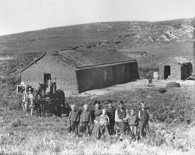 Homesteaders in Nebraska, late nineteenth century