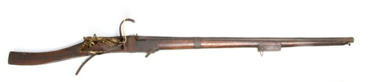 Chinese matchlock gun