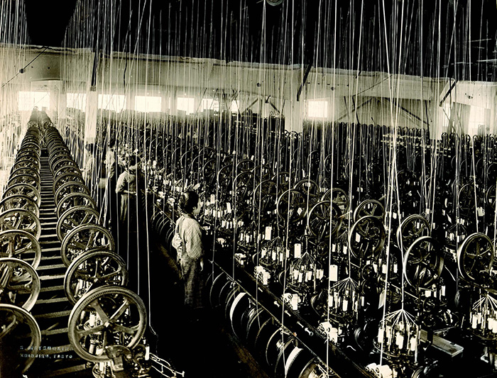 Japanese spinning mill