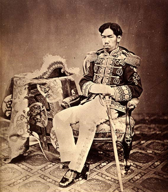 Emperor Meiji in 1873